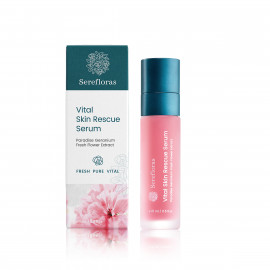 Vital Skin Rescue Serum with Paradise Geranium Flower Extract