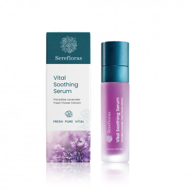 Vital Soothing Serum with Paradise Lavender Flower Extract