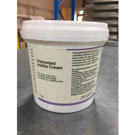 Unscented Jojoba Cream 1kg