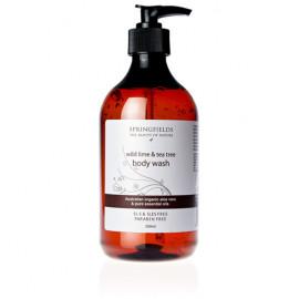 Body Wash - Wild Lime & Tea Tree Wash 500ml
